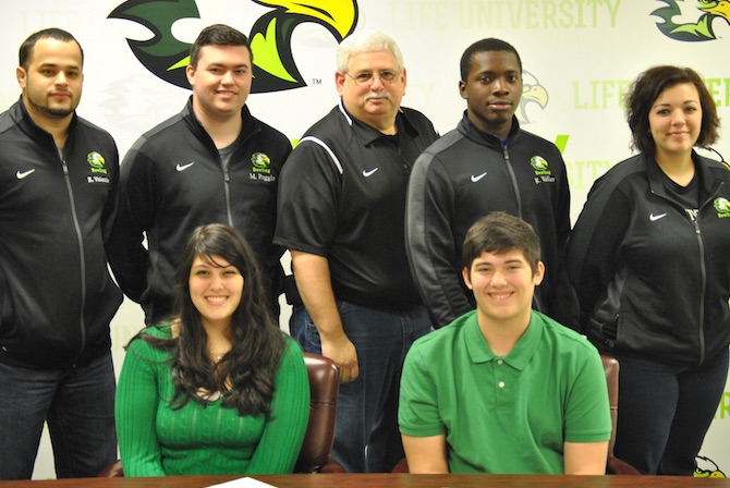 Photo for Sibling Signing Bolsters Life U Bowling