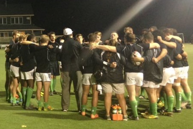 Photo for Men's Rugby Opens Weekend Doubleheader With Big Result