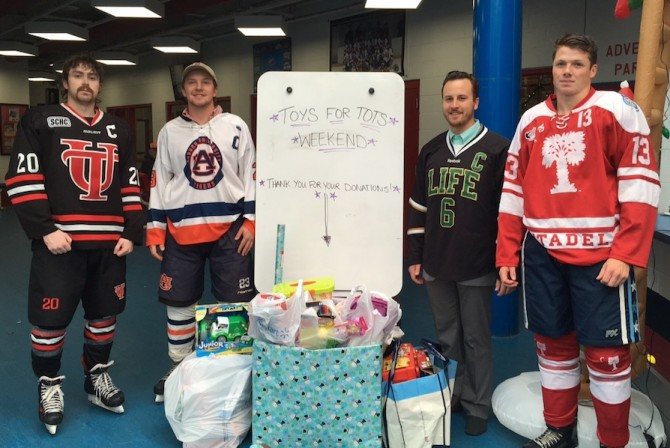 Photo for Hockey Plays for Toys For Tots