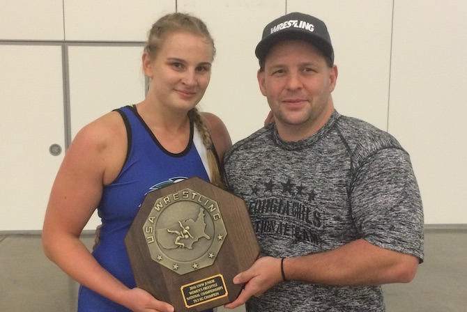Photo for Mathews Steps Down as Women's Wrestling Coach