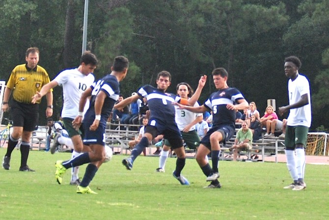 Photo for Men's Soccer Begins Spring Season