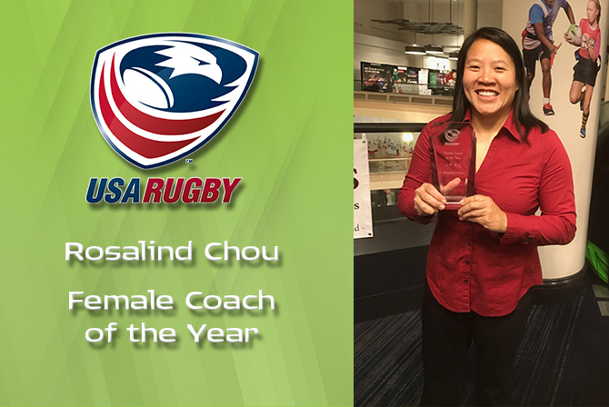 Photo for Chou Named USA Rugby Female Coach of the Year