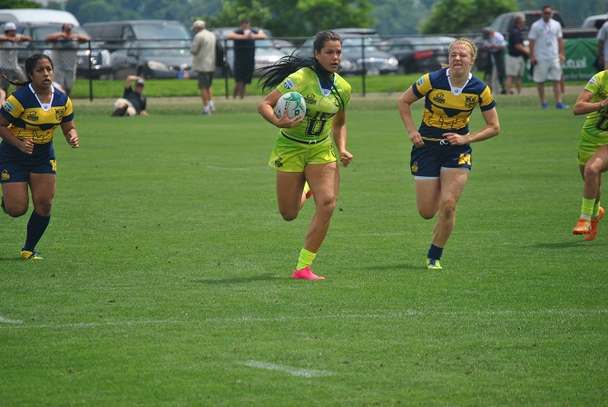 Photo for Former Running Eagle Strasko to Debut with USA Rugby Sevens on Thursday
