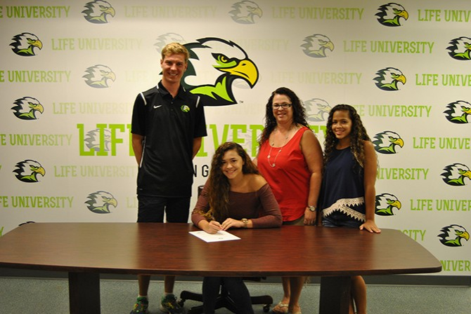 Photo for Sonsteng Signs First Student-Athlete for New Era of Swimming Program