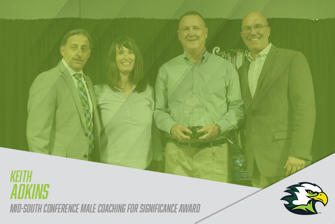 Photo for Adkins Receives MSC Male Coaching for Significance Award