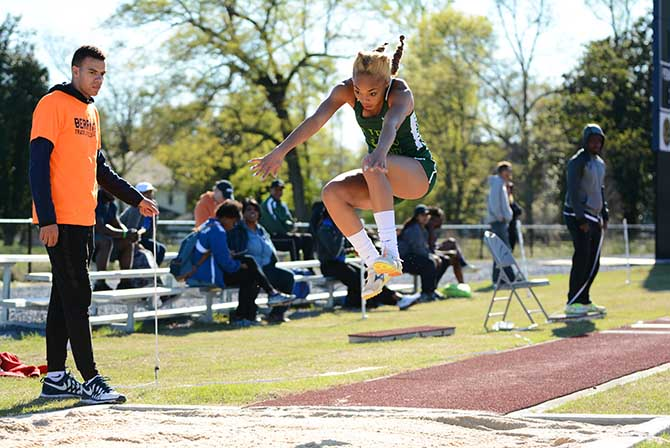Photo for Sands Claims National Championship in Triple Jump