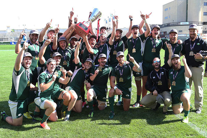 Photo for Life U Club Rugby Claims DII Club National Championship in Rout